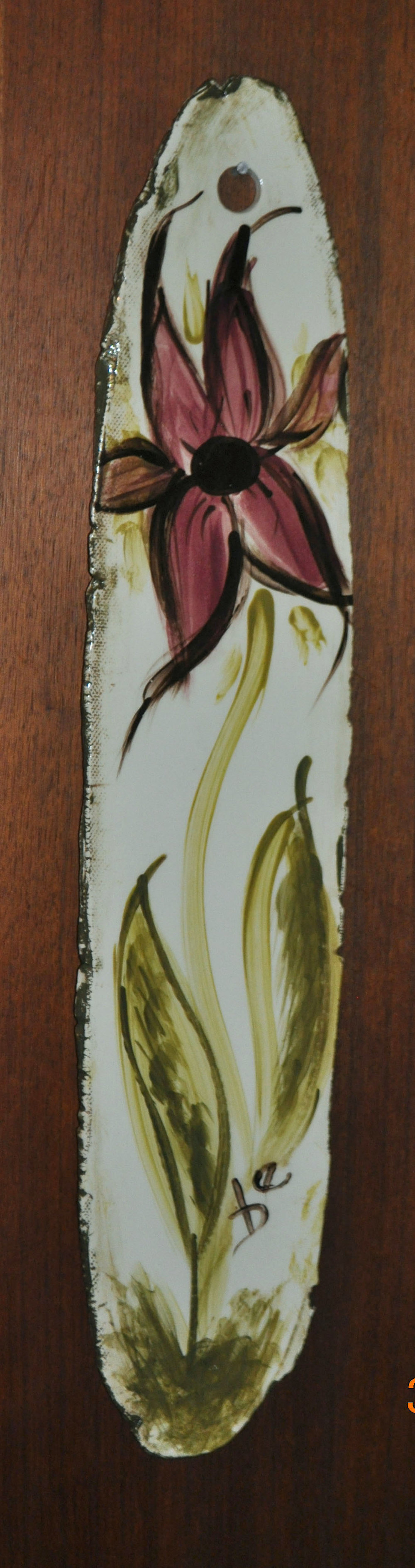 HAND PAINTED BOTANICAL WALL HANGINGS.