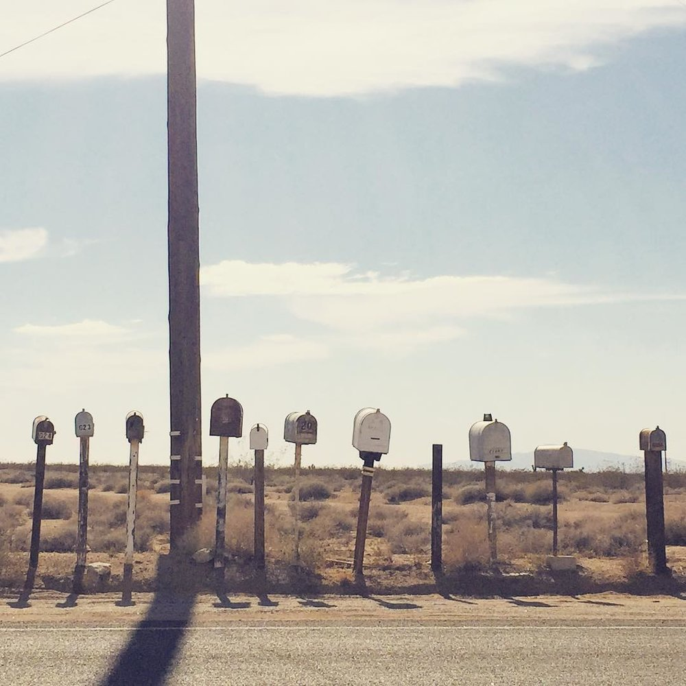 Roadside Mailboxes, Route 66