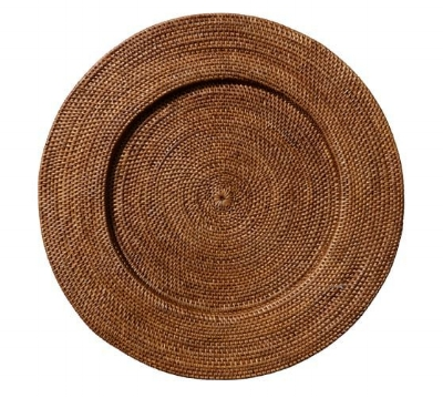 Brown-Rattan-Charger