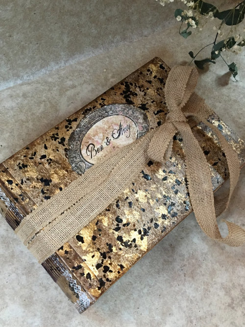Rustic Barn | handmade vintage style wedding guest book or photo ...