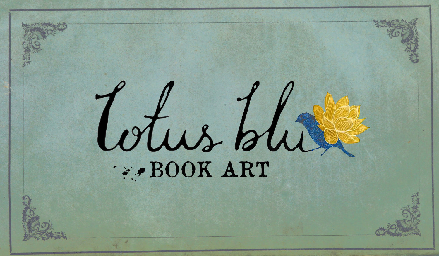 Lotus Blu Book Art