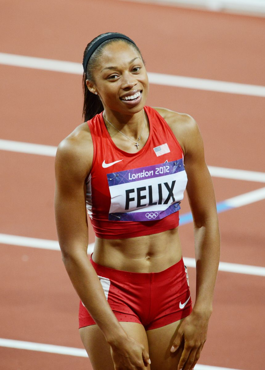 3-time World champion and 2017 World bronze medalist Allyson Felix has faced her share of disappointing times and finishes but has persevered to be the most decorated female Olympian in track and field history.