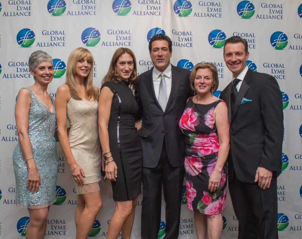 Honored at Global Lyme Alliance's Time for Lyme Gala 2016