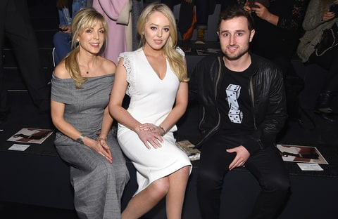 Tiffany Trump Sits Front Row at NYFW Show With Mom Marla Maples and Boyfriend  - US Weekly