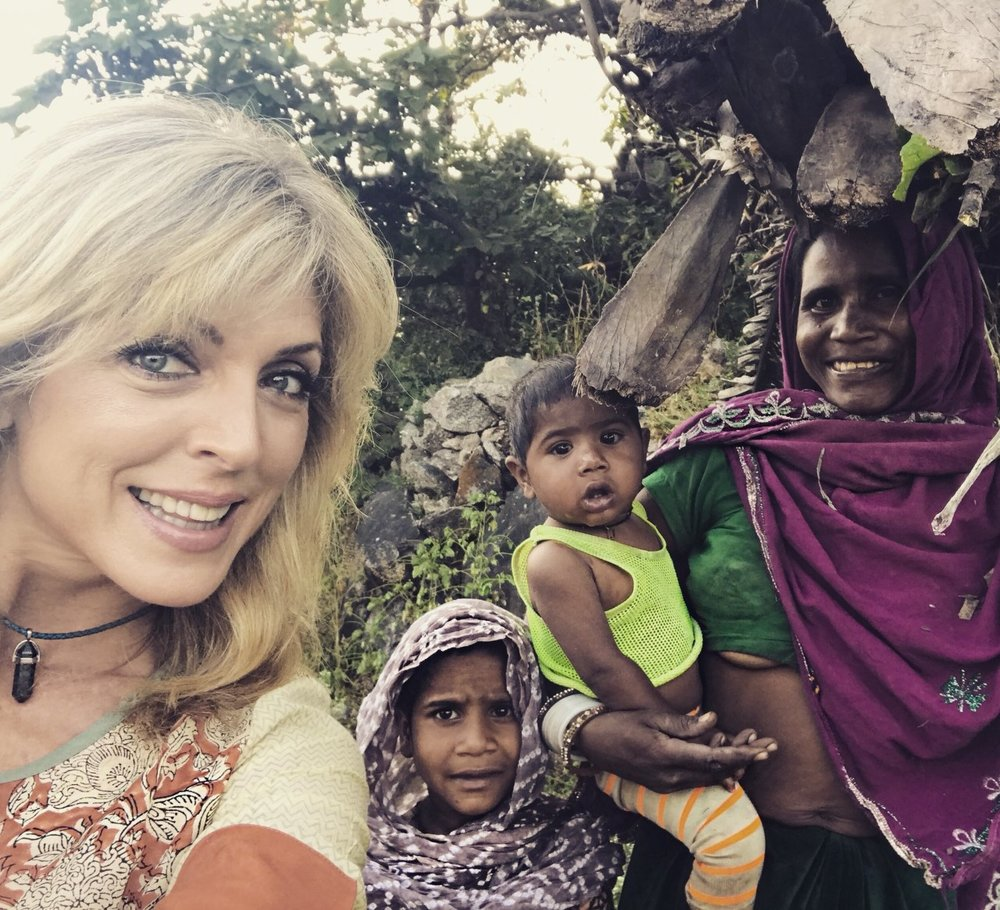 Marla Maples is learning Raj Yoga Meditation at the Bramhakumari Spiritual University in Mount Abu, Rajasthan— The New Indian Express