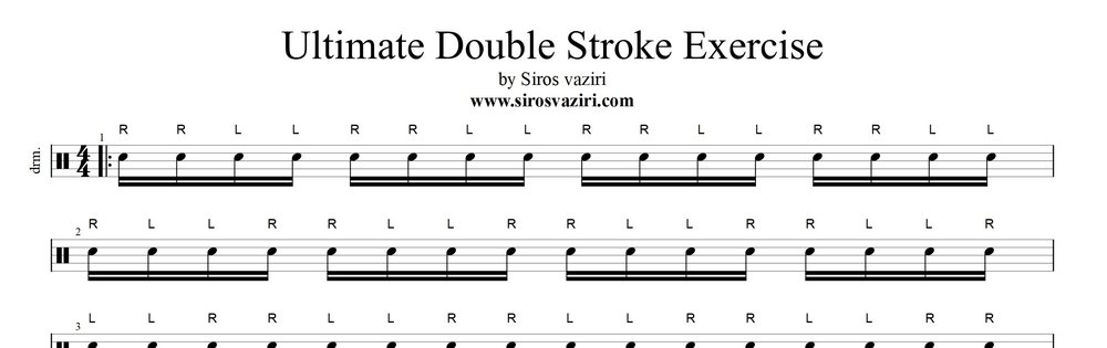Ultimate Double Stroke Exercise - Siros Vaziri.jpg
