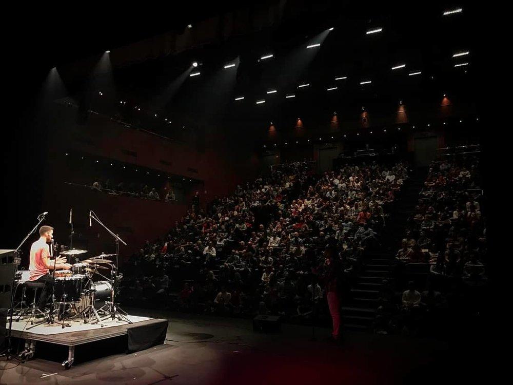 TamTam DrumFest 2018 in Seville, Spain.