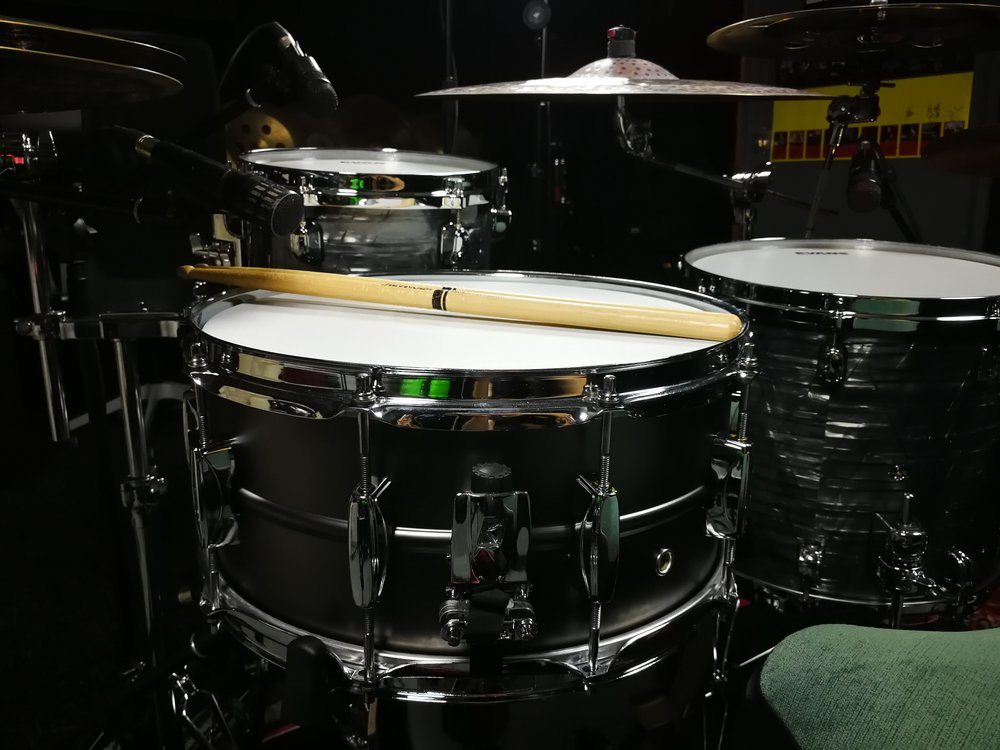 14x6.5 Tama Metalworks Steel snare drum.