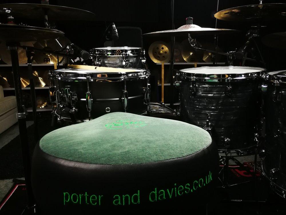 Porter & Davies saddle throne.