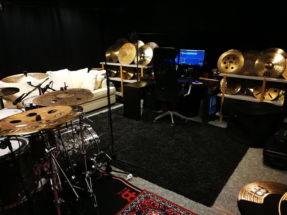My studio in Mariestad, Sweden.