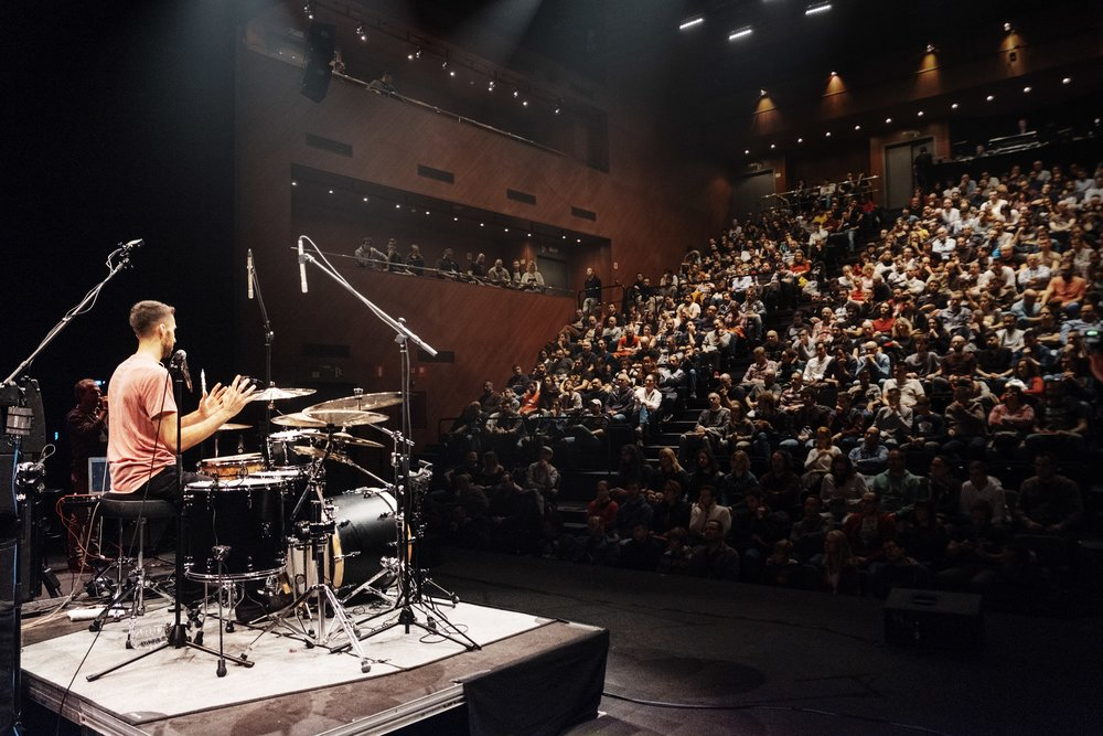 TamTam DrumFest 2018 i Sevilla, Spanien