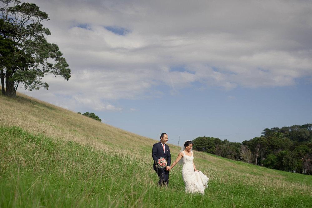 Bride and Groom Lifestyle Portrait