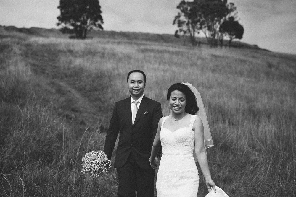 Bride and Groom natural Portraits