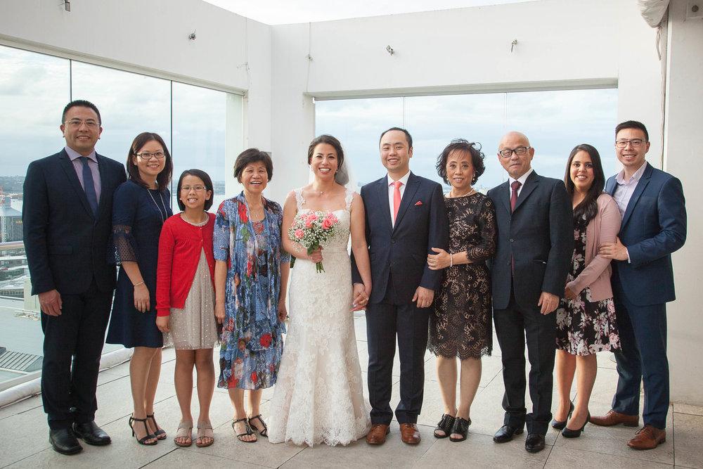 Formal Family Portrait
