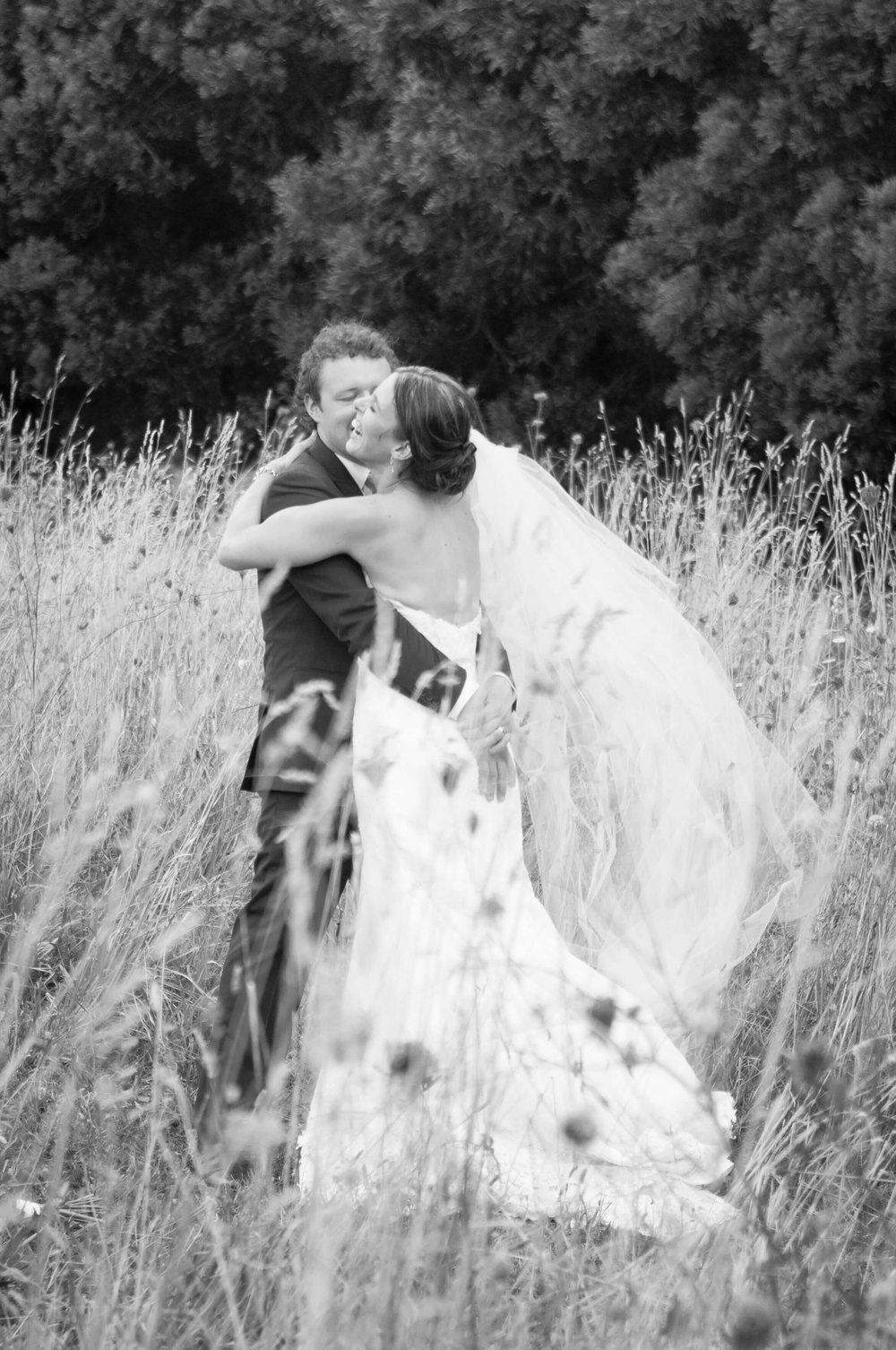 It was a beautiful moment photographing this couple share their joy in a great location