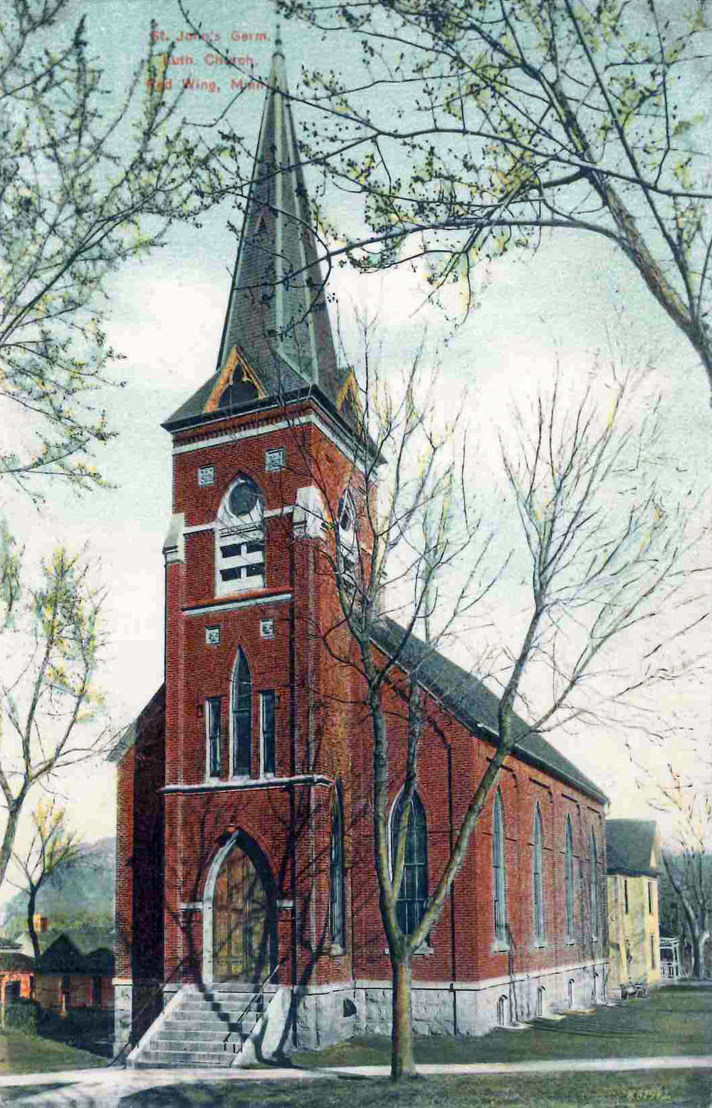 St. John's Lutheran Church                                                      Condition Assessment, Masonry Survey