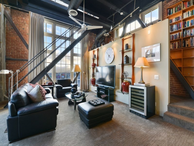 David Baker's innovative clock tower lofts