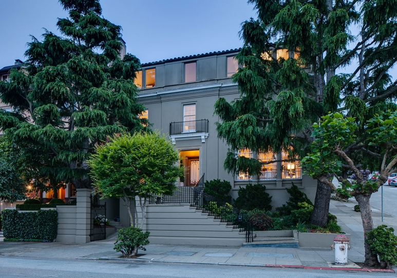 2585 Pacific Avenue  - private sale 2014 - $9,000,000   who got the job  - walker warner (architect) - mat pell (builder)   job status  - completed 2017