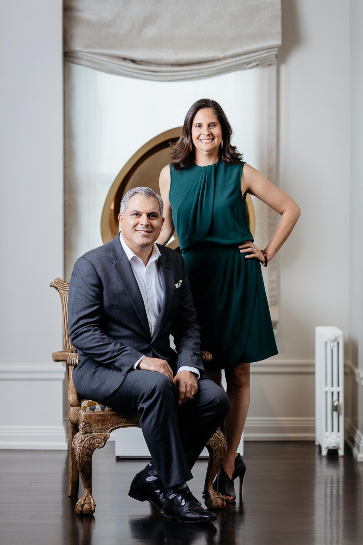 George Brazil & Cecilia Sagrera