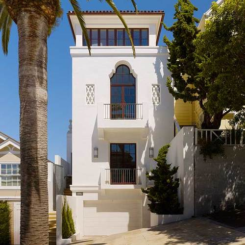 award winning  dolores heights home