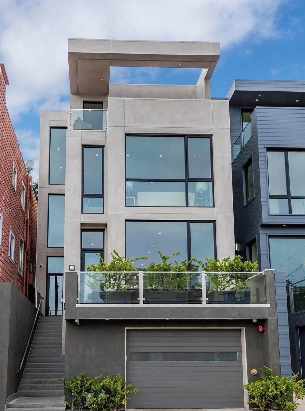 cole valley modern -  1171 Stanyan street - $3,500,000