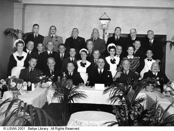 Adelphi Hotel Staff Farewell, 1946