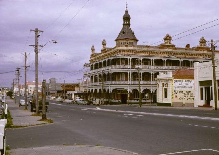 Federal Hotel, Wellington Street, Perth, 1967