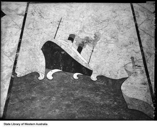 Mural of Ship, 1953