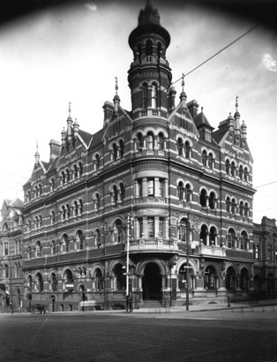 T & G Building, Perth, ca 1920's