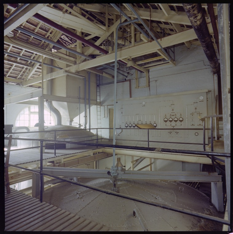 Interior of Emu Brewery, 1978