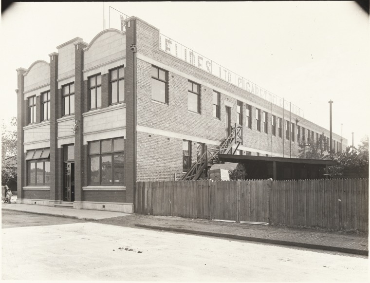 Michelides Tobacco Factory, 1925