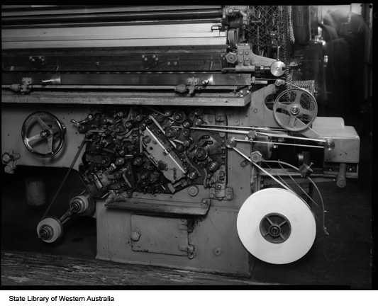 Machinery, Michelides Tobacco Factory, 1951