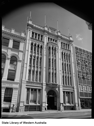 National House, 49 William St, 1962