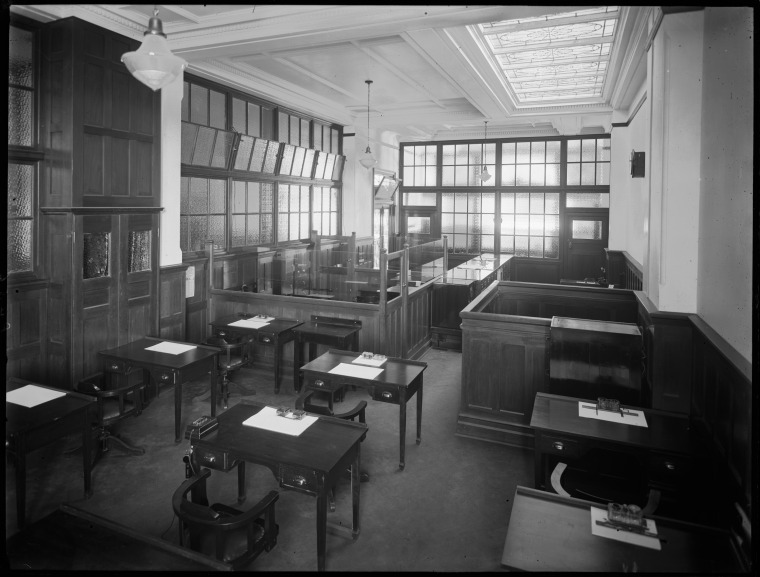 Office, T & G Building Interior, 1932