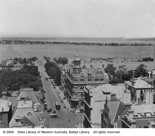 T & G Building, taken from the tower of the Town Hall, 1925