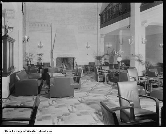 Lounge Area, 1936