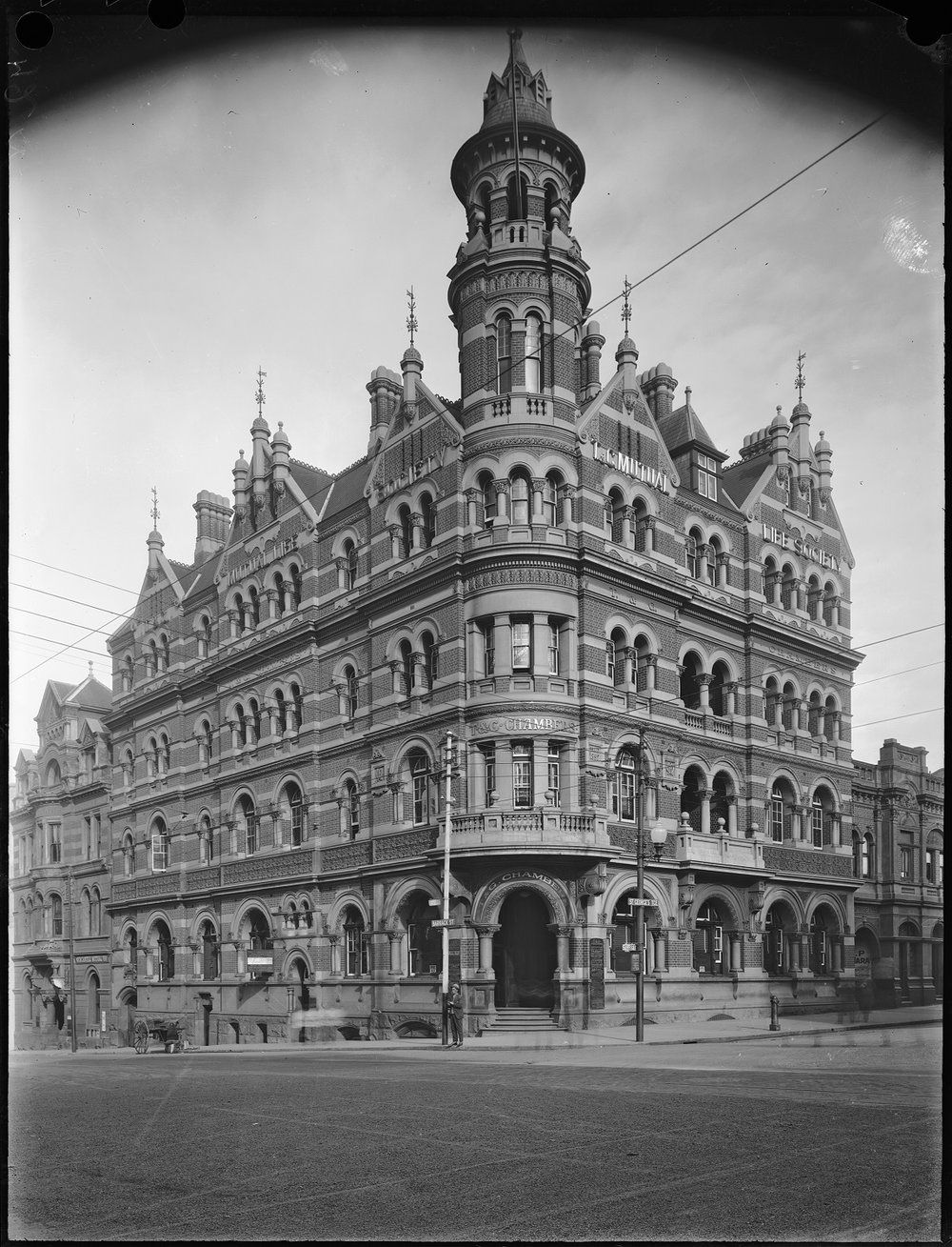 The T&G building, Perth, 1920s