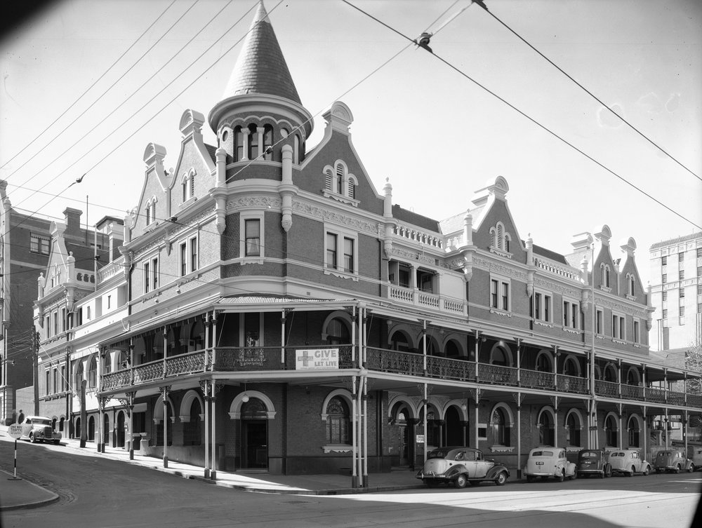 Esplanade Hotel, August 1941