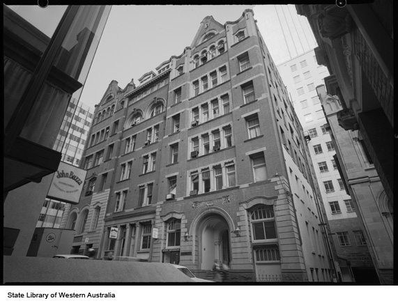 Rear of Perpetual Trustees Building, 1979