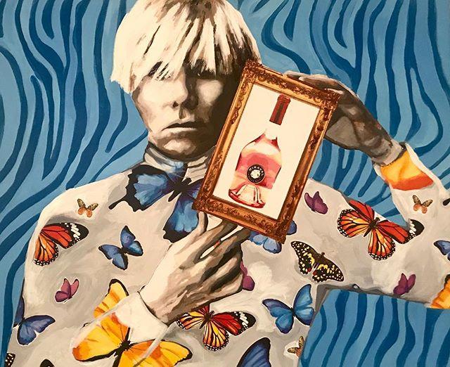 Sundays with AW.  Acrylic on canvas.