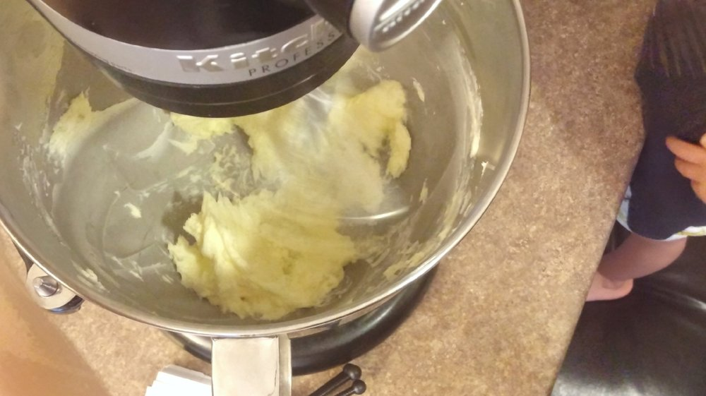 Mix softened butter - method for secret recipe chocolate chip cookies from Bake