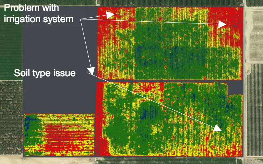 Ceres Aerial Spectral Imaging for Agriculture Startup