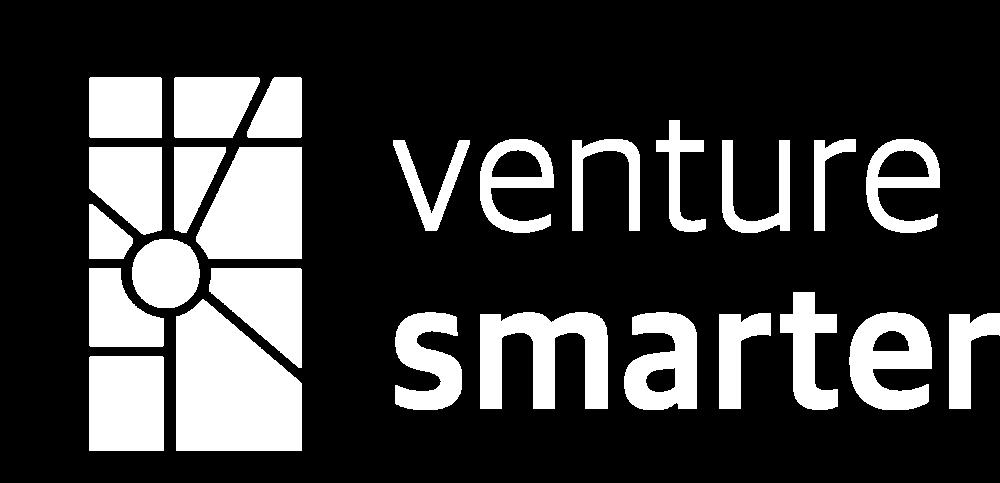 Venture Smarter Logo White