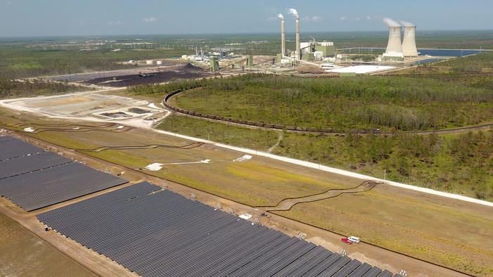 Orlando's new solar plant takes shape as Florida's solar energy erupts
