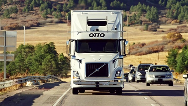 Self-driving truck's beer run on Colorado's Interstate 25 gets Guinness World Record