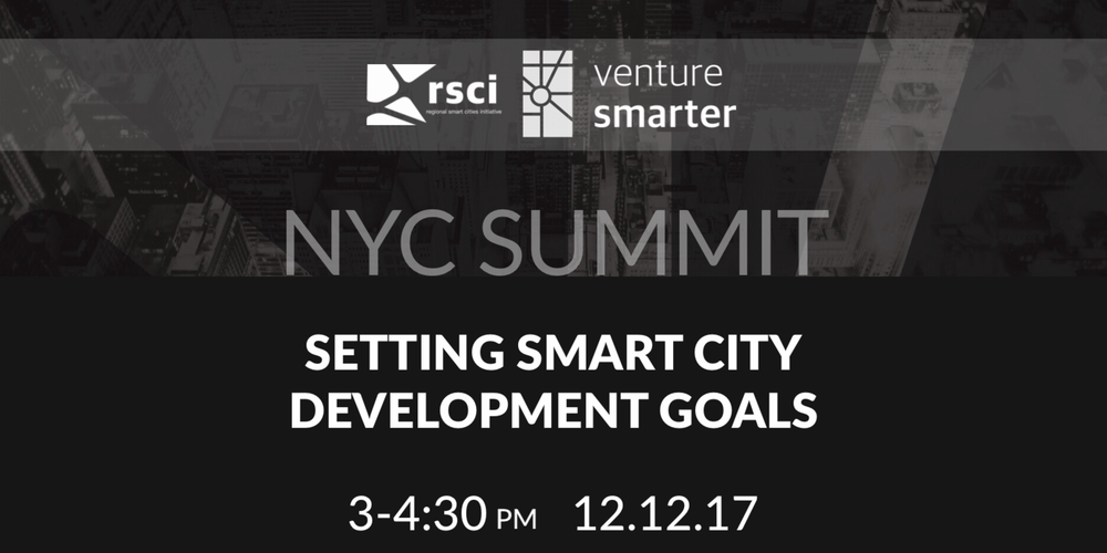 NYC Smart City Development Goals Summit Event