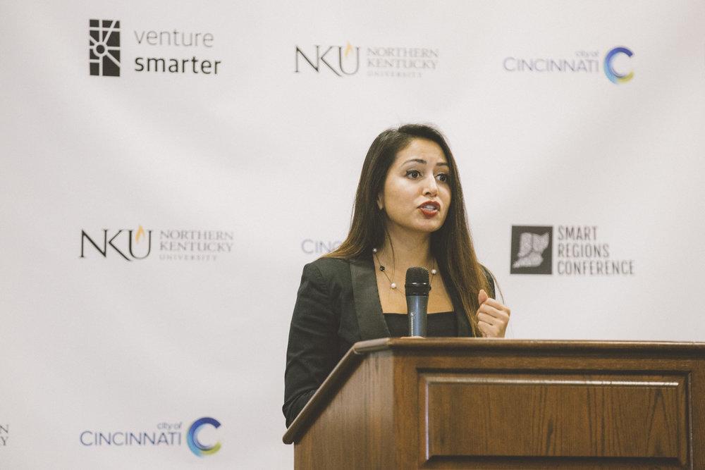 Rhonda Binda at Venture Smarter's 2017 Smart Regions Conference