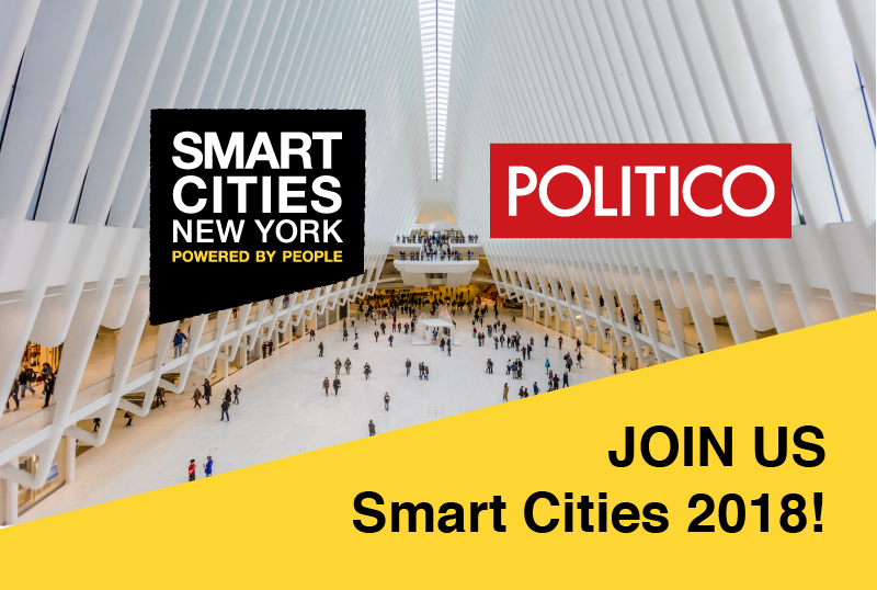 Smart Cities NYC 2018 with Politico
