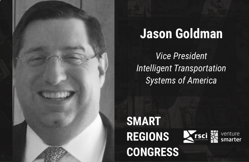 Venture Smarter Speaker Jason Goldman, Intelligent Transportation Systems of America