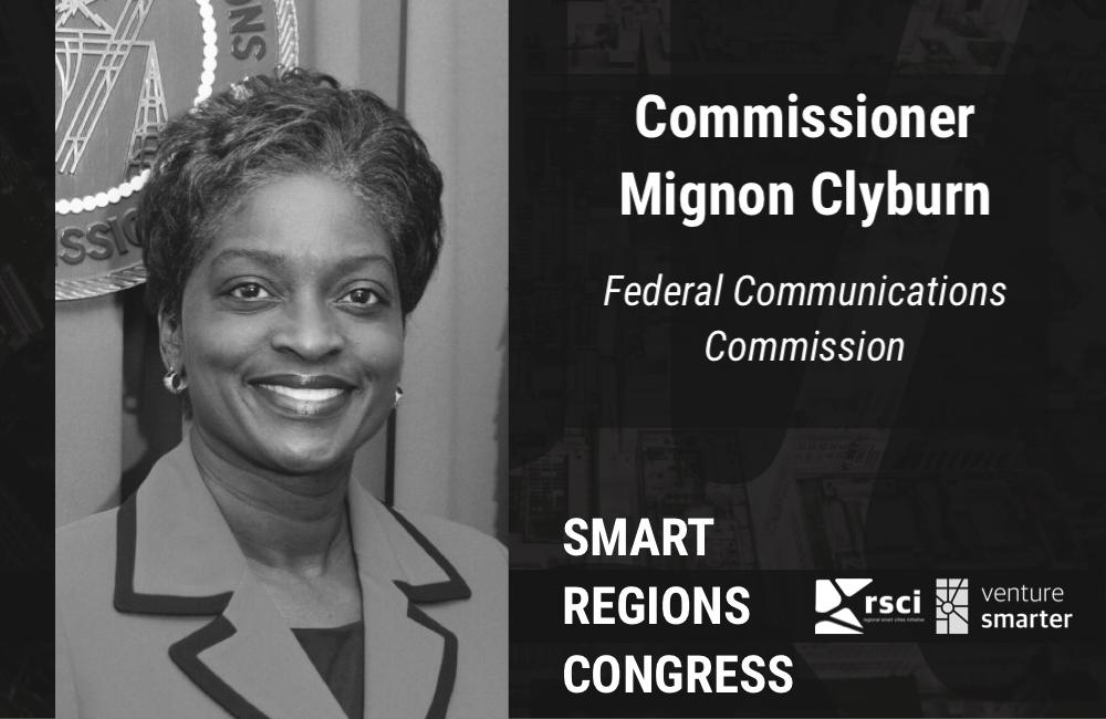 Venture Smarter Speaker Commissioner Mignon Clyburn, FCC
